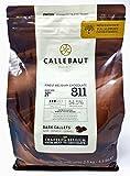 Callebaut N° 811 (54,5%) - Copertura di Cioccolato Fondente Belga - Finest Belgian Dark Chocolate (Callets) 2,5kg