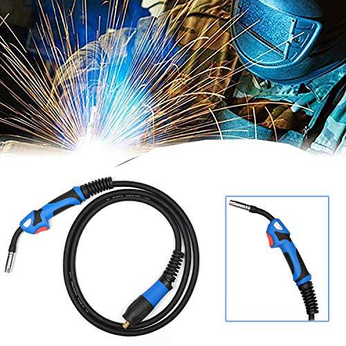 Schweißbrenner MB15 Schutzgas Schlauchpaket Schutzgas CO2 Welding Torch Gun Hals für MIG/MAG Schweißgerät 5M