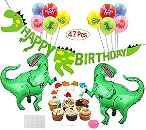 Mattelsen Decoración de Cumpleaños Dinosaurios