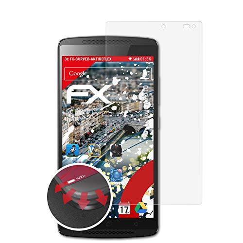 atFolix Schutzfolie passend für Lenovo A7010 Folie, entspiegelnde & Flexible FX Bildschirmschutzfolie (3X)