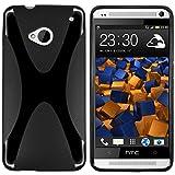 mumbi X-TPU Schutzhülle HTC One Hülle schwarz (NICHT HTC One M8) - 2
