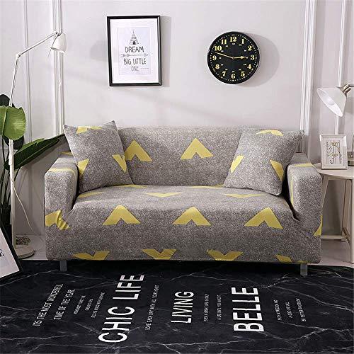 Funda de sofá elástica, Sala de Estar Extensible Dibujo Impreso con decoración...
