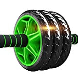 Direct Store Exercising Fitness Ab Wheel Roller Abdominal & Stomach Exercise Training Fitness Equipment (3 Wheels)