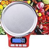 Webla - Balance de Cuisine Balance Digitale Poids Inox