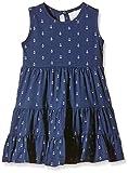 Happy Girls Mädchen Kleid aus Jersey mit Anker Print, All over print, Gr. 140, Blau (navy 62)