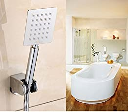 "Kitsch R/N Astontm 230mm (9"" Long) Ultra Slim 100mmx80mm (4""X3"") Rectangular Rain Spray SS Hand Shower Only"
