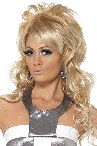 ahre Beauty Queen Perücke, One Size, Blond, 42011 (Beauty Queen Kostüme)