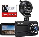 【2020 Nuova Versione】Dash Cam, Telecamera per Auto 3 Pollici 1080P FHD con Obiettivo Grandangolare 170° e WDR Dashcam Auto con Visione Notturna, Registrazione in Loop, G-Sensor