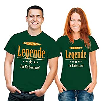 Lebende Legende im Ruhestand - T-Shirt - Textilien S