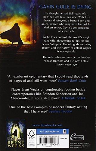 Book's Cover ofLightbringer 2. The Blinding Knife