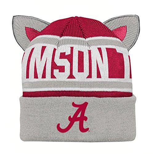 826063eba24 Gen 2 NCAA Alabama Crimson Tide Infant Team Ears Cuffed Knit Hat