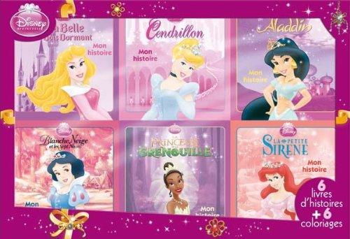 Coffret 12 livres Disney Princesses