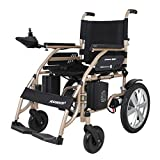 JL-Q Elektrischer Rollstuhl Leichtgewichtiger tragbarer Roller-Scooter für ältere und behinderte Lithium-Batterie-Klapol-Rollstuhl