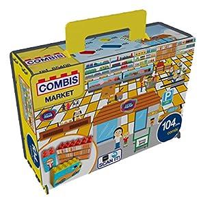 Game Movil - Bloque de construcción Combinado en cartón (104 Piezas