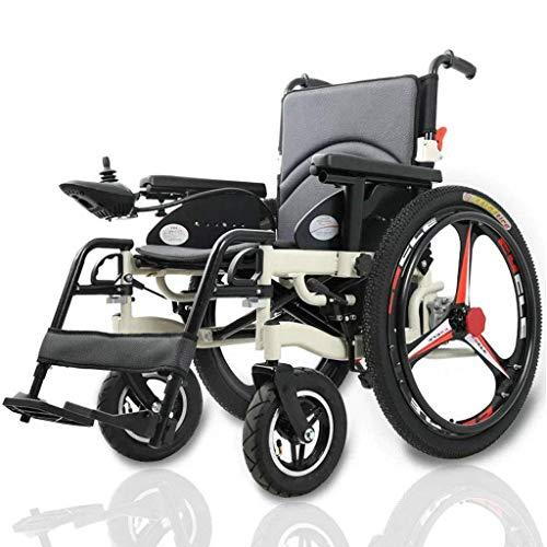 CANDYANA Zusammenklappbare tragbare leichte elektrische Rollstuhl Aluminiumlegierung Dual Motor Drive Öffnen Falten in 5 Sekunden
