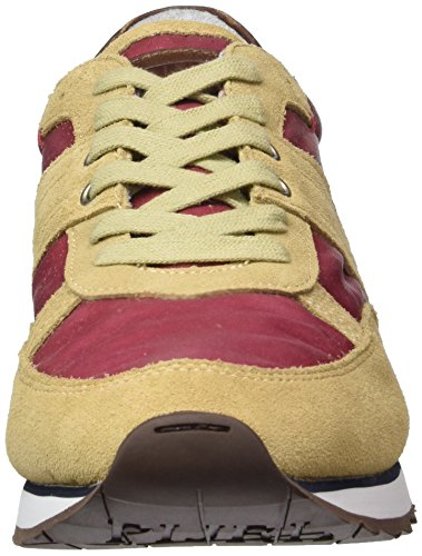 Napapijri Trail, Baskets Basses homme Rouge - Rot (deep claret red N55)