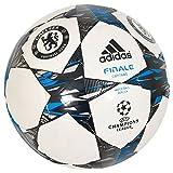 adidas Herren Fußball Finale 2014 Chelsea Capitano, White/Dark Marine/Solar Blue2 S14, 5, F93384