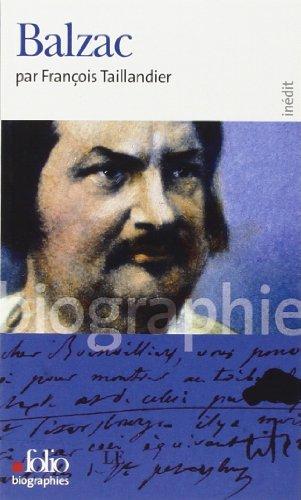Balzac par François Taillandier