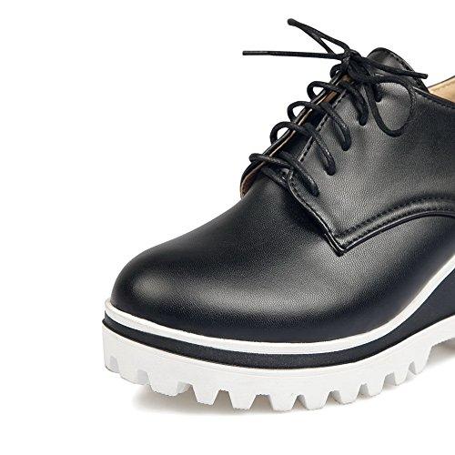 Balamasa - Zapatos Plataforma Mujer Negra
