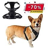 Brustgeschirre für Hunde, No-Pull Hundegeschirr für Mittlere & Große Hunde Atmungsaktiv Welpengeschirr für Training, Walking (size M)