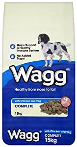 Wagg Complete with Chicken and Vegetables - Dry Mix 15 kg - by Wagg Foods Ltd