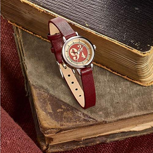 Harry Potter Andén 9 3/4 Mujer Relojes Burdeos, 5