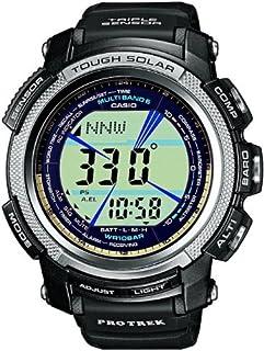 CASIO Unisex Quartz Watch with Grey Dial Digital Display and Black Resin Strap PRW-2000-1ER (B002LAS0VI)   Amazon price tracker / tracking, Amazon price history charts, Amazon price watches, Amazon price drop alerts