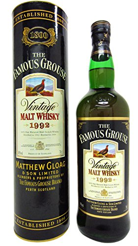 Famous Grouse - Vintage Malt - 1992 12 year old Whisky