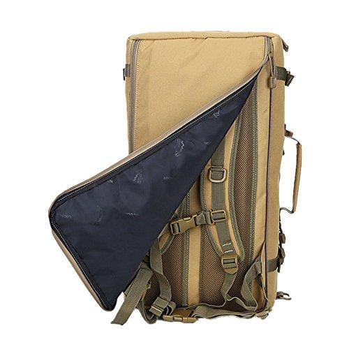 Multifunktions Unisex 50L Wanderrucksack Hucke Camping Rucksack Urlaub Reise Gepäck Handtasche 02