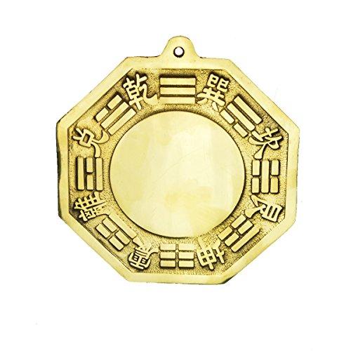 Dije de protección de latón de Feng Shui Pa Kua