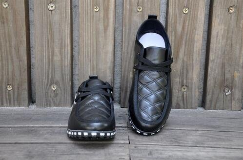 Frühling Herbst Herren Business Casual Schuhe Sportschuhe Fahren Schuhe Schwarz