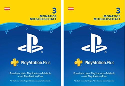 PlayStation Plus Mitgliedschaft | 6 Monate | PS4 Download Code - österreichisches Konto