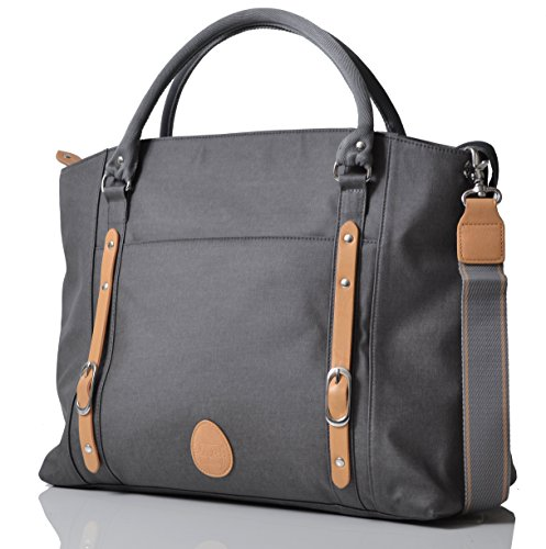 pacapod-mirano-pewter-designer-baby-changing-bag-luxury-grey-tote-3-in-1-organising-system