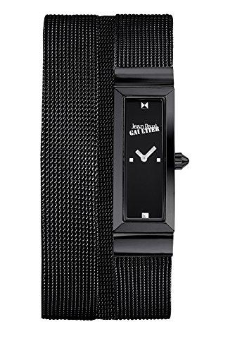 zeigt-damen-jean-paul-gaultier-cote-mesh-stahl-pvd-armband-mesh-schwarz-33-135-mm-8503905