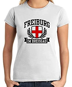 T-Shirtshock - T-shirt Frauen TSTEM0037 freiburg im breisgau