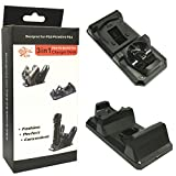 #1: 3 IN 1 Controller and move Charger Stand for Sony PS3 PS4 Playstation 4 Move Controller charger