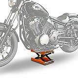 Motorrad Hebebühne Scherenheber Lift ConStands M orange