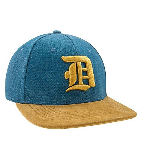 Nouveau Snapback Cap toit en suède Casquette de Baseball Bonnet Cap Chapeau Snap back 3D Gothique D (D Gold)