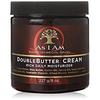 As I Am DoubleButter Cream Rich Daily Moisturizer, 227g/8 oz.