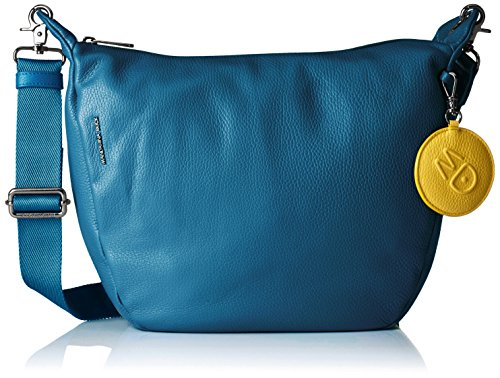 mandarina-duck-damen-mellow-leather-tracolla-umhangetasche-blau-midnight-29-x-12-x-345-cm