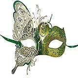 Damen Karneval kostüm Maske Schmetterling Stil Venezianische Masken