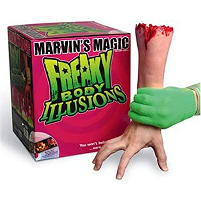 Freaky Body Illusions - Juego de Magia de Marvin's Magic