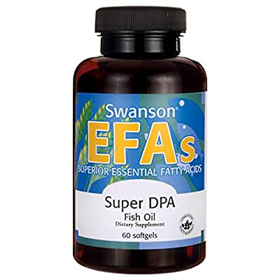 Swanson EFAs Super DPA Fish Oil - 60 Softgels from Swanson Health Products