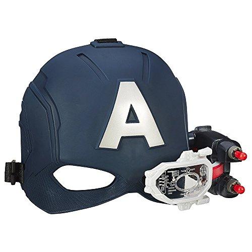 Hasbro Avengers B5787EU4 - Captain America Elektronischer Action-Helm, Spielzeug Helm (Captain America Maske)