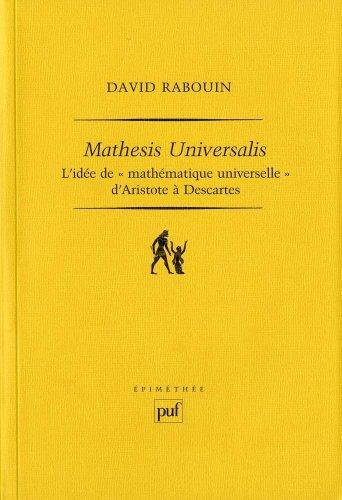 Mathesis universalis