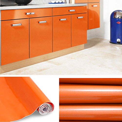 Kinlo 5m 0 61m Papier Peint Auto Adhesif Pour Armoire De Cuisine En