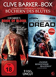 Clive Barker Box UNCUT - 2 Horror-Highlights in einer Box: Book of Blood + Dread (2 DVDs)