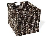 KMH, Große Korb-Box aus geflochtener Wasserhyazinthe (#204072)