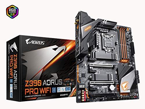 GIGABYTE Z390 AORUS PRO WiFi (Intel LGA1151/Z390/ATX/2xM.2 Thermal Guard/Onboard AC Wi-Fi/RGB Fusion/Motherboard)