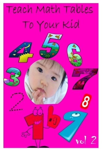 Teach Math Tables To Your Kid vol 2 por Zhingoora Books